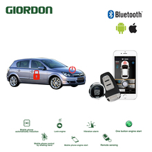 Universal Keyless Entry PKE Comfort System ios Android APP Phone Car Alarm Boost Remote Start Engine Opel1-2