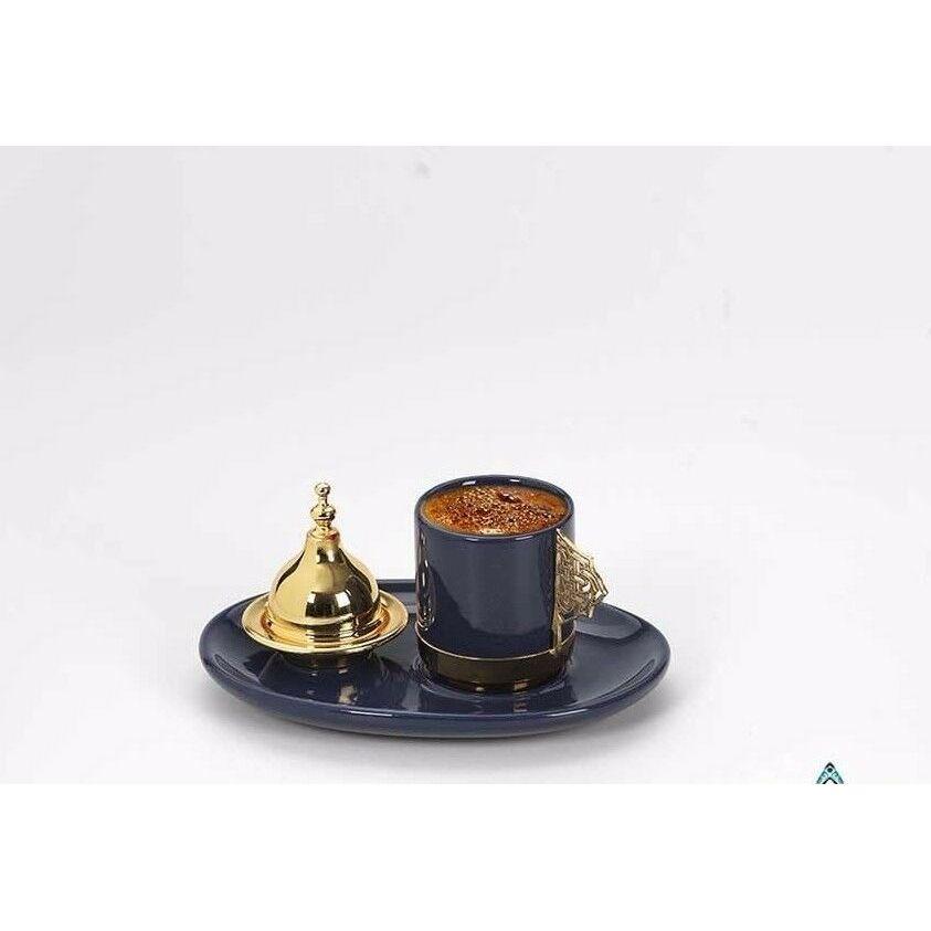 Tek İtalyan Espresso Yunan Arapça Türk Kahvesi Servis Kupası değerli set|Kahve Takımları|   -