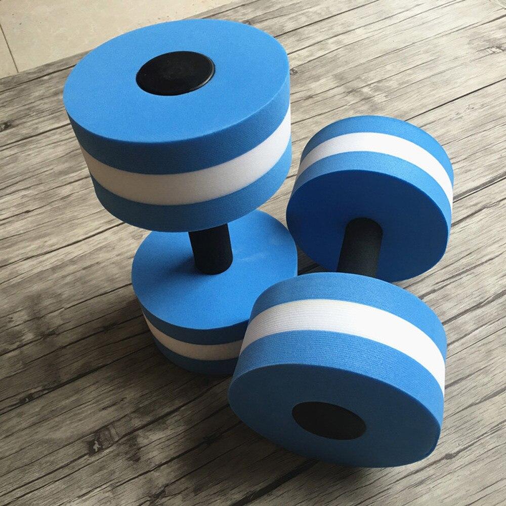 IN LAGER 2pc Wasser Aerobic Hanteln Gewicht Hanteln Fitness Gym Ausrüstung Yoga EVA Aquatische Barbell Fitness Aqua Pool Übung