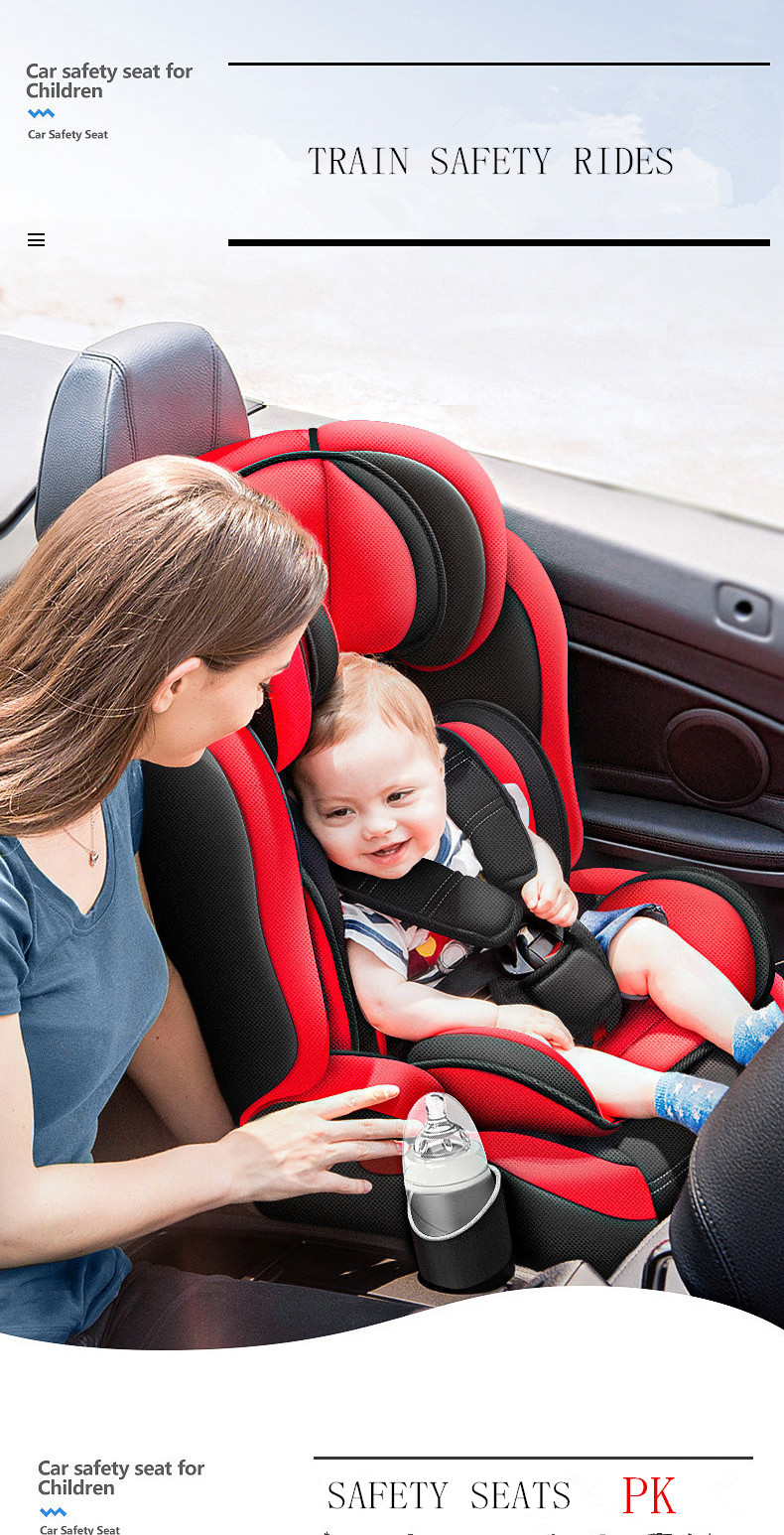 Hot Sale Carmind Child Car Safety Seat for 9 M-12 Y Old with Soft Connector ISOFIX and LATCH Forward-facing Universal Car Seats