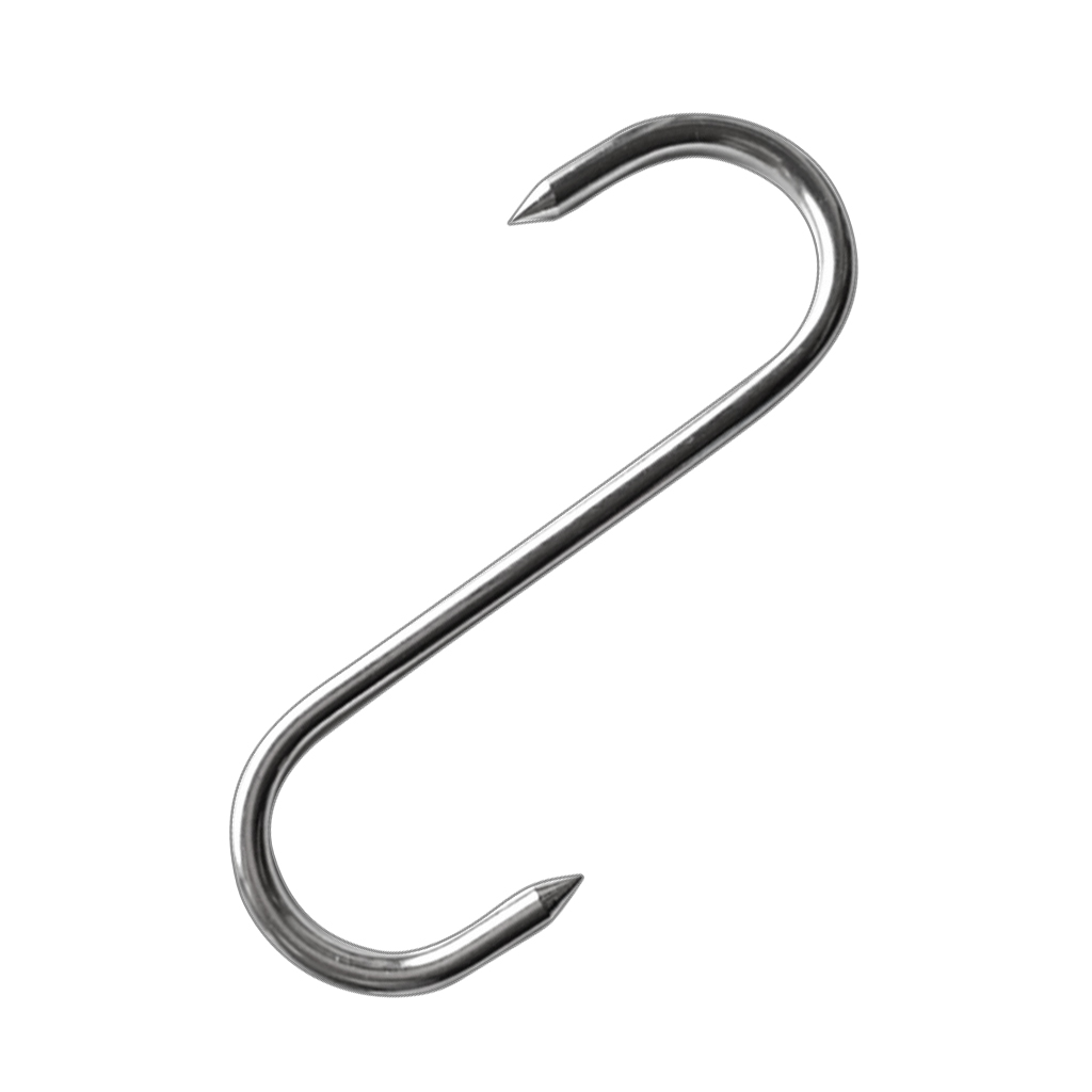 Professional Stainless Meat S Hooks Butcher Farmer Hunter Metal Meat Hook For Home Kitchen Cup Clothes Container