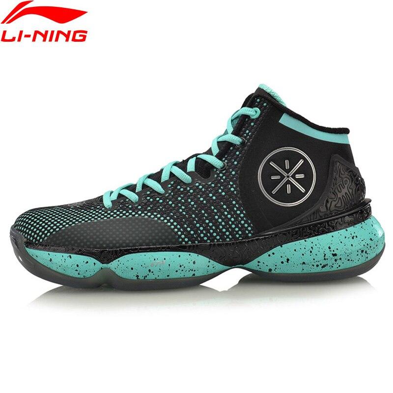 Li-ning hommes Wade les 6th chaussures de basket-ball professionnel stabilité coussin baskets BOUNSE + soutien chaussures de Sport ABAM017 XYL291