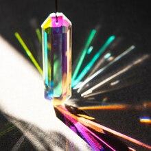 H & D 120 мм AB-Colors кристалл призмы Suncatcher Радуга производитель подвесных капель кулон для оконная люстра части DIY домашний декор