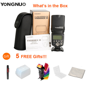 Image 2 - YONGNUO YN565EX III Wireless TTL Slave Flash Speedlite GN58 High Speed Recycling System Supports USB Firmware Upgrade for Canon