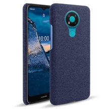 Luxo Textura De Pano Coube o Caso Para Nokia 3.4 3.2 2.4 8.1 8.3 4.2 6.2 7.2 X5 X6 X71 5.1 Sirocco 6.1 7.1 Plus 8 9 Pureview Funda