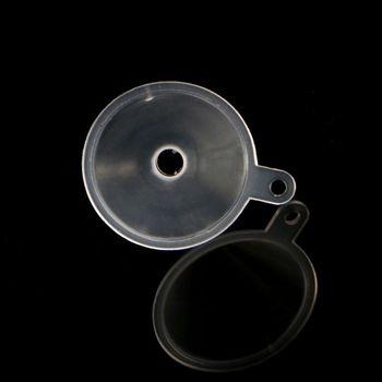 10 sztuk plastikowe małe lejki do perfum płynny olejek eteryczny napełniania puste narzędzie do pakowania butelek tanie i dobre opinie