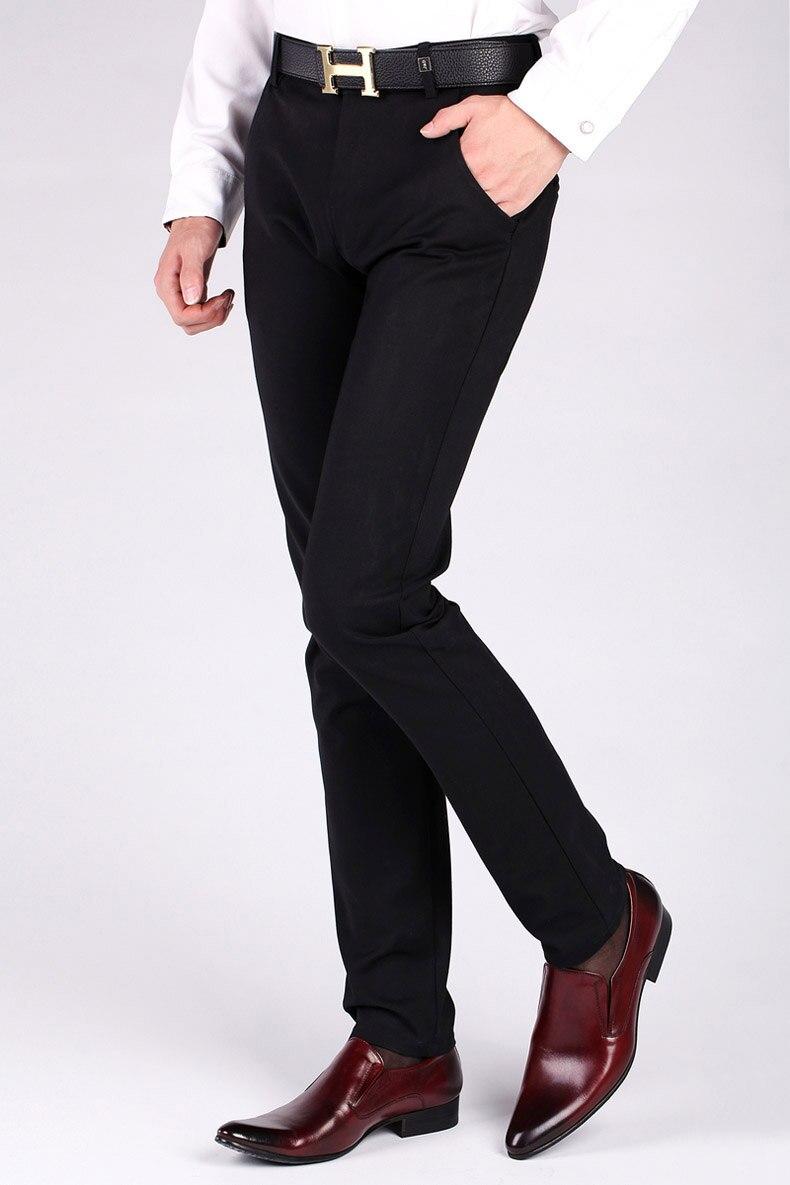 Pijama masculino de couro legítimo, sapato formal