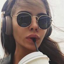 2019 Luxury vintage Mirror Brand Designer Sunglasses Women/Men Classic