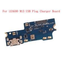 Для leagoo m13 usb разъем Зарядное устройство для платы микрофон