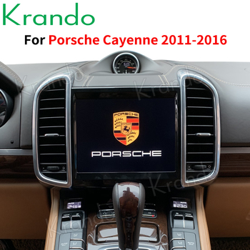Krando Android 10.0 8.4''/10.4 Tesla Vertical Screen Car Audio Multimedia Player for Porsche Cayenne 2011-2016 Gps Navigation image