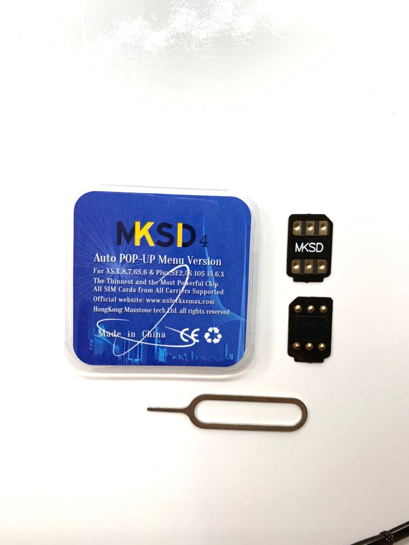 MKSD4 sim unlocking card 5G support update ICCID+MNC V13.3.1 GP iphone6/7/8/plus/x/XS 12 11 11p 11pro max vsim doubler DB gv