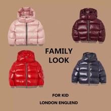 Г. Зимняя куртка-пуховик красного и синего цвета зимняя одежда для девочек, теплая куртка, пальто густой пуховик зимняя верхняя одежда, детское пальто