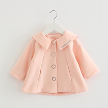 Newborn Baby Girls Coats Jackets Princess Kids Infant Cotton Outerwear Long Sleeve Infant Overcoat Baby Girl Clothing