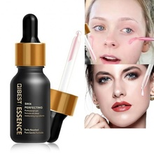 Hot 24K Gold Elixir Essence Oil Face Primer Brighten Moisturizer Hydrating Control Base Make Up Under Eye Lip Pore Minimizer недорого