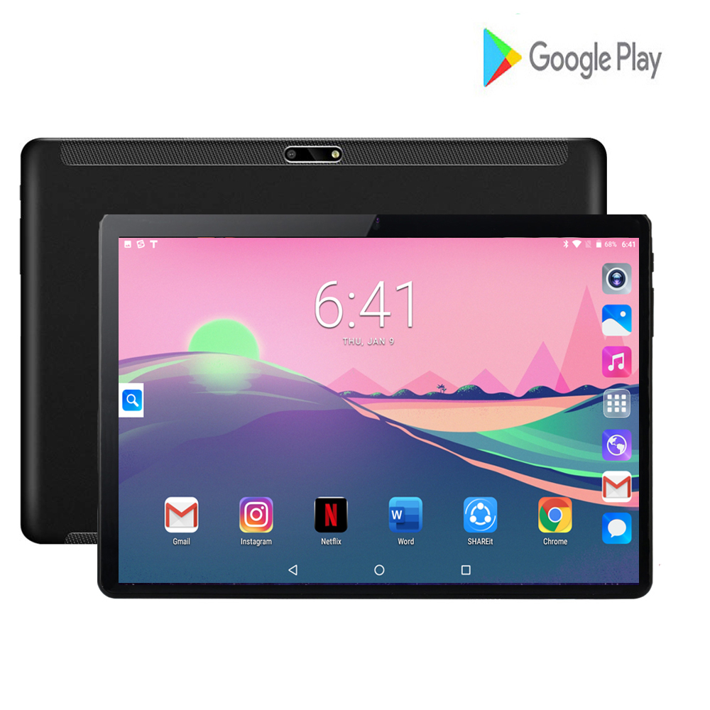 2020 Global Version 10 inch tablet PC 2GB RAM 32GB ROM 1280*800 IPS Dual SIM Card 3G Network Wifi Android 9.0 tablet 10.1 image