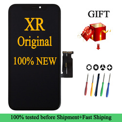 Factory Wholesale 100% New Lcd for iPhone XR Display Screen Touch With Metal Factory Display For iPhone XR Lcd touch Screen