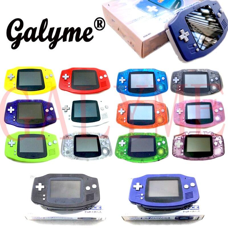 Console de jogo portátil retro multi-cor quente sem dispositivo retroiluminado apto para nintendo gba console remodelado jogo menino avanço