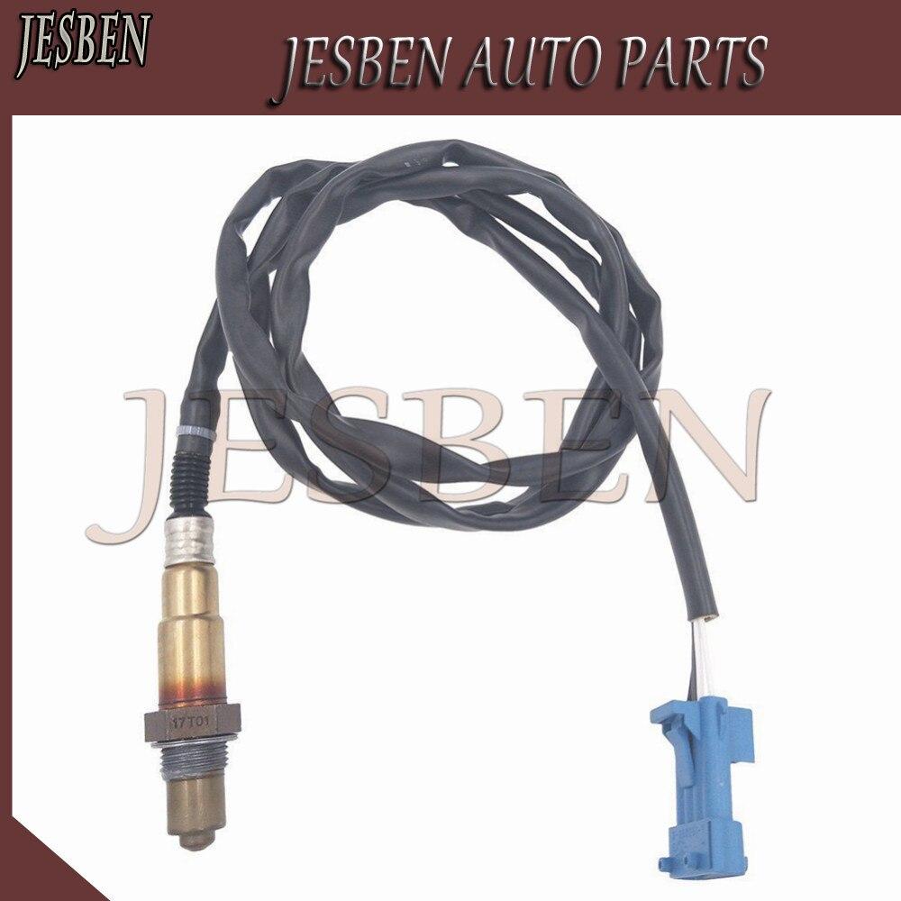 Sonda Lambda Sensor de Oxigênio O2 Apto para Peugeot 206 307 607 806 1628HV 1628CX 1628.HV 1628.CX 96 229 977 0258006029 1997223 107223