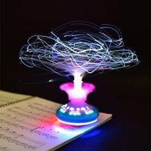 Новинка Лидер продаж забавная НЛО светильник игрушка флэш Корона
