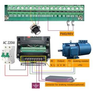 Image 3 - 2.2KW Raffreddato Ad Acqua Motore Mandrino CNC Router + 110V/220V Inverter + 80 millimetri Morsetto + Acqua pompa/tubo + 13pcs ER20 Collet Per Incisore