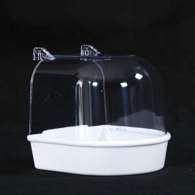 Bird Bath Water Box For Parrots - Parakeets - Lovebirds - Finches  6