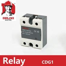 цена на DELIXI CDG1-1AA Solid State Relay 60A Single phase AC Control AC No Contact SSR-60AA