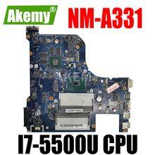 Прекрасно работает AILG NM-A331 для Lenovo G70-70 G70-80 I7-5500U 2GB-GPU Z70-70 Z70-80 B70-70 B70-80 ноутбук материнская плата
