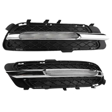 Автомобильные светодиодсветодиодный дневные ходовые огни DRL, противотуманные фары для Mercedes-Benz W212 E250 E300 E350 2009-2013