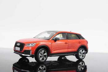 1:18 Diecast Model for Audi Q2L 2019 SUV Alloy Toy Car Miniature Collection Gifts Q2 image