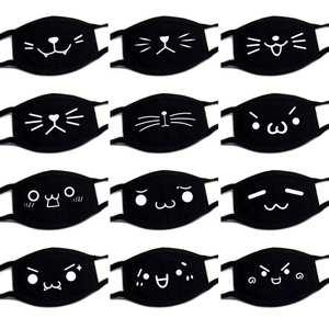 Dust-Handkerchief Marvel Black Lady Cotton Cartoon 1PCS Expression Men High-Quality