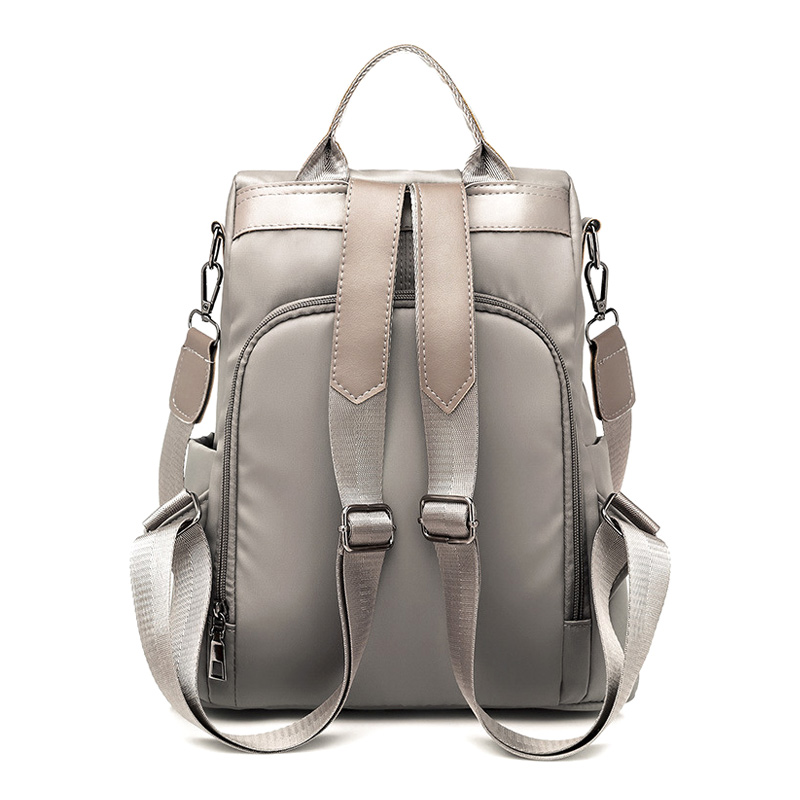 High Women Waterproof Oxford Cloth Travel Backpack Nylon Anti-theft Double Shoulder Bag KTC 66