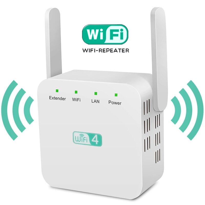 Wifi Ripetitore Wireless Wifi Ripetitore 300Mbps Wifi Range Extender Wi-Fi Lungo Amplificatore di Segnale 2.4G Repiter Wi Fi Ultraboost