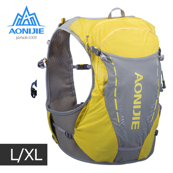 AONIJIE LXL Size C9103 Ultra Vest 10L Hydration Backpack Pack Bag Free Water Bag Flask Trail Running Marathon Race Hiking Cycle