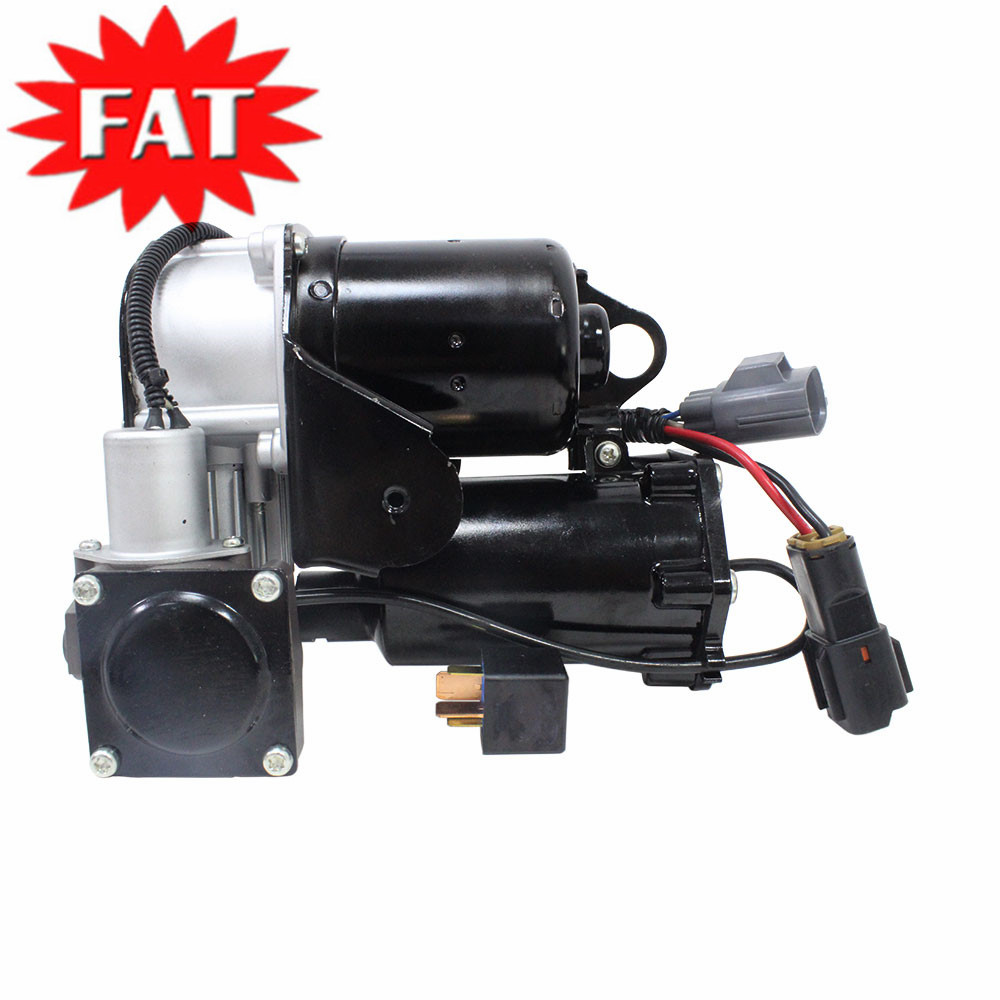 Air Suspension Compressor With Relay For Land Rover Discovery 3 LR3 04-09 Discovery 4 LR4 10-17 Range Rover Sport 06-13