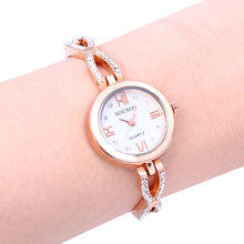 Women silver Diamond Watches High-End Quality Fashion Retro Design clock Woman's Trend Quartz Watch Female zegarek damski #W3(China)