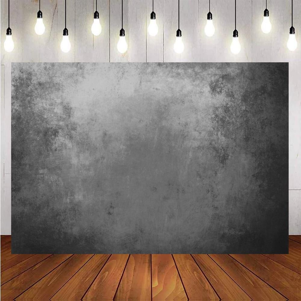 Настенные фоны для фотографии цементная поверхность стены градиентный однотонный текстурный узор Фотофон для фотостудии