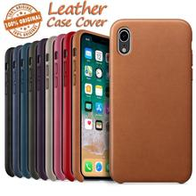 Leather Back Case Luxury Cover  For Apple IPhone XR 6.1inch  Slim & Smooth Phone Case Covers Dropship Nov.24