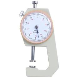 Skóra metalowa 0 do 20mm grubość tarczy 0.1mm precyzja  srebrny żółty w Mierniki ultradźwiękowe od Narzędzia na