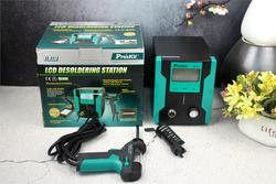 Pro'sKit SS-331H ESD LCD Digital BGA Desoldering Suction Electric Absorb sleeping function Desoldering Pump Solder Sucker Gun