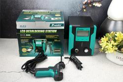 Pro'sKit SS-331H de succión desoldadora Digital de LCD de alta definición de succión eléctrica para absorber la función de dormir Bomba De desoldadura pistola de soldar