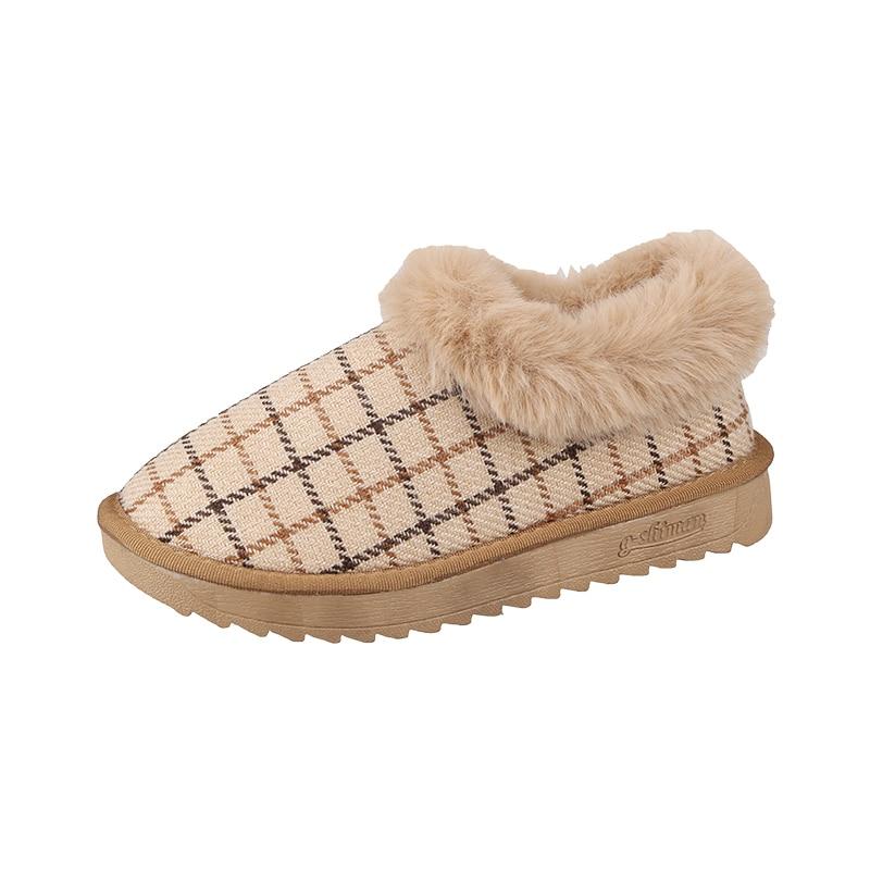Bootee Woman 2019 Shoes Women Boots Winter Luxury Designer Booties Ladies Lace Up Low Heels booties Australia Round Toe Mid 24