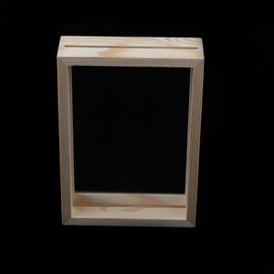 Photo Frame Document Picture Frame Premium Wood Decorative Tabletop Display Double-sided Glass Photo Frame