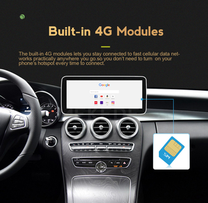 Image 5 - 4G LTE Android 10 4+64G W207 A207 C207 GPS Merce des Display Car Multifunctional Navigator For Ben z E Class Coupe 10 12 Screen