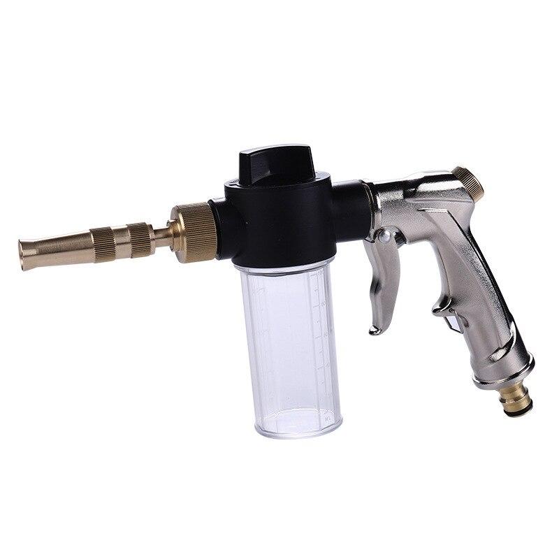 Car Wash Gun Auto Water Foam Machine Cleaning Gun High Pressure Washer Car Home Garden Wash Foam Gun Truck Cleaning Nozzle Spray