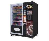 뜨거운 판매 다기능 자동 판매기 스낵/차가운 음료 자동 판매기 음료 자동 판매기