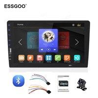 Essgoo 9'' 1 Din Central Multimidia Car Radio Bluetooth Call Car Audio Stereo Universal Autoradio Multimedia Player Mirror Link