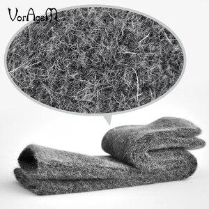 Image 3 - New Mens Super Thick Merino Wool Socks High Quality Big Size Men Wool Socks Soild Color Brand Winter Warm Wool Socks 3pair=1lot