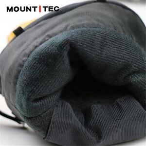 Image 5 - Mountitec 探検 4 電気加熱された手袋リチウム電池自己発熱タッチスクリーンゴートスキンスキー手袋防水乗馬 guantes