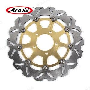 Image 3 - Arashi 1 Set 300 / 220 mm CNC Floating Front Rear Brake Disc Rotors For SUZUKI GSXR GSX R 600 750  GSX600R GSX750R 2004 2005