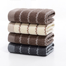Bath-Towel Hand-Face 100%Cotton for Adults 1pc 34cm-X-74cm Hotel Water-Absorbent Thick